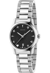 ba049746046 ... Relógio Gucci Feminino Aço - Ya126573
