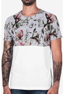 Camiseta Hermoso Compadre Meio A Meio Estampada Me - Masculino