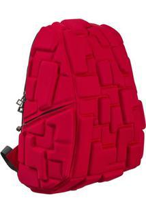 Mochila Blok Grande Vermelha Madpax