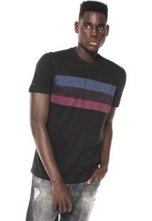 Camiseta Nicoboco Jacquard Preta