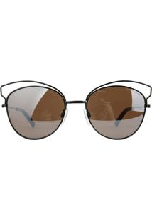 Óculos De Sol Atitude At3203 09A/55 Preto - Kanui