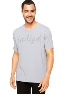 Camiseta Vila Romana Indigo Cinza