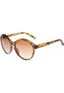 Óculos Ray Flector Buckingam - Feminino-Marrom+Amarelo
