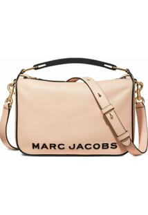 Marc Jacobs Bolsa The Softbox 23 - Rosa