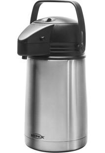 Garrafa Térmica Brinox 1,3 Litros Aço Inox Alumínio