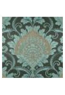 Papel De Parede Adesivo Decoração 53X10Cm Verde -W17313