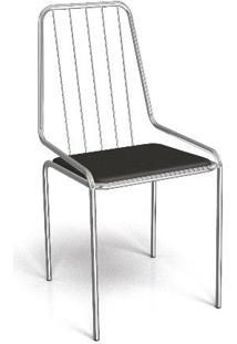 Cadeira Kappesberg Crome Benim Ii Preto
