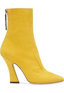 Fendi Ankle Boot Ffreedom - Amarelo