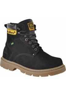 Bota Adventure Bell Boots Casual - Masculino-Preto