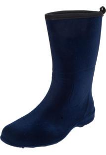 Bota Galocha Fiveblu Cano Médio Azul