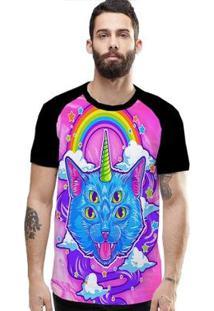 Camiseta Stompy Raglan Modelo 38 Masculina - Masculino