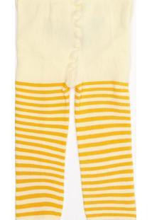 7182f5404e Meia Calça Amarela Trico feminina
