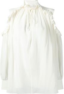 Chloé Blusa De Seda - Branco