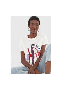 Camiseta Cantão Slim Yo Off-White