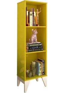 Livreiro Twister Amarelo Tcil Móveis