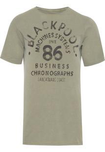 Camiseta Masculina Blackpool - Verde
