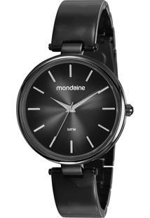 Relógio Analógico Mondaine Feminino - 53775Lpmvpf2 Preto