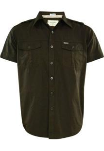 Camisa Gajang Marrom