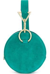 Tara Zadeh Clutch Bag - Verde