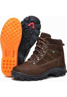 Bota Helazza Boots Adventure Trekking Marrom