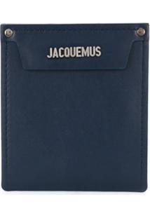 Jacquemus Clutch Com Bolso Removível - Azul