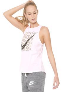Regata Nike Sportswear High Jdi Rosa