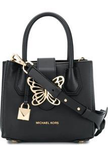 Michael Michael Kors Bolsa Tote Butterfly - Preto