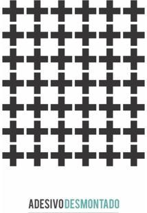 Adesivo Decohouse De Parede Crosses Preto