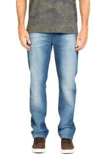 Calça Jeans Destroyed Medium Slim
