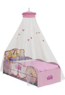 Bicama Infantil Princesas Original Disney Fun Dossel Teto Pura Magia