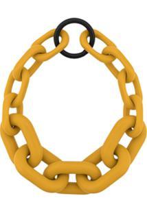 Simon Miller Chunky Chain Choker - Amarelo