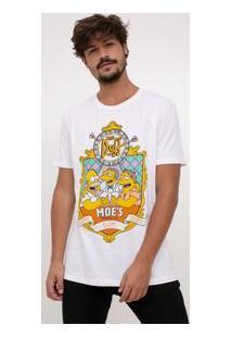Camiseta Com Estampa Simpsons
