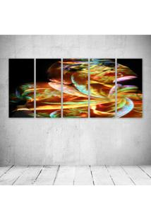 Quadro Decorativo - Fantasy245 - Composto De 5 Quadros - Multicolorido - Dafiti