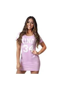 Camiseta Kings Sneakers Vest Legging 4 Rosa