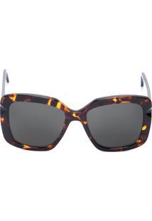Óculos De Sol Feminino Iris Solar Demi Scotch - Preto