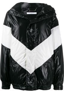 Givenchy Chevron Puffer Jacket - Preto