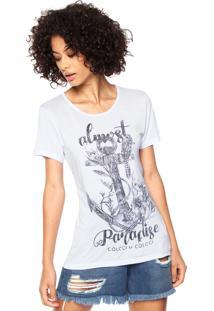 99644e835 R$ 49,99. Dafiti Camiseta Colcci Estampada Branca