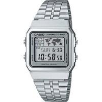 8833e982d4d Relógio Casio Vintage - Masculino-Prata