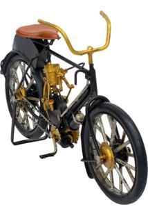 Enfeite Retrô Minas De Presentes Bicicleta Preto