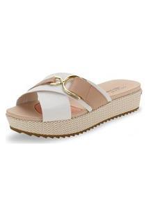 Sandália Feminina Flat Modare - 7146202