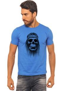 Camiseta Joss - Caveira Bandana - Masculina - Masculino