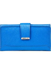 Carteira Artlux Azul