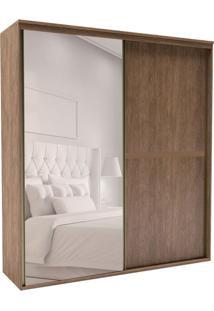 Guarda-Roupa Casal Com Espelho Sofisticato 2 Pt 3 Gv Ébano