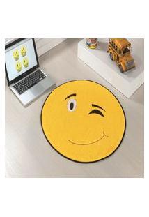 Tapete Premium Emotion-Amarelo 65 Ø