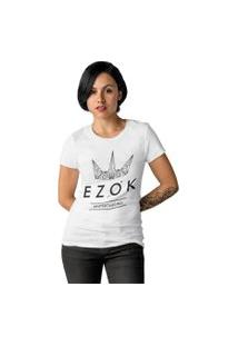 Camiseta Feminina Ezok Urban Branco