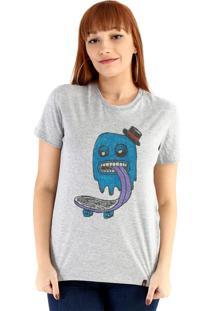Blusa Ouroboros Blue Ghost Skater Cinza