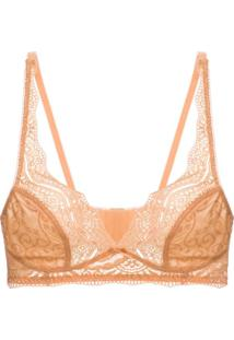 Sutiã Triângulo Renda Love Lace Gold