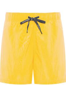 Short Masculino Drawstring - Amarelo