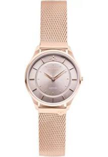 Relógio Feminino Technos Slim Analógico 9T22Al/4C - Unissex-Rose Gold