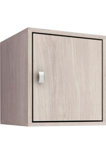 Cubo Fechado Com 1 Porta Movelbento - Grigio - Multistock